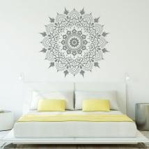 Vinyle mandalas décorer les murs et les cristaux