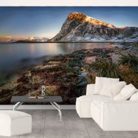 Papiers peints îles lofoten norvège