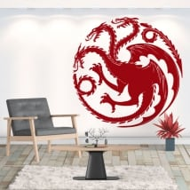 Vinyle décoratif dragon game of thrones
