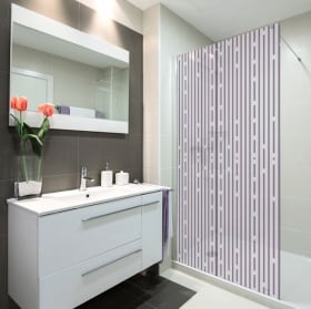 Vinyle écrans lignes de bain