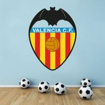 Vinyle valencia club de football bouclier