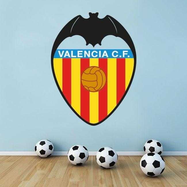Vinyle valencia club de football bouclier
