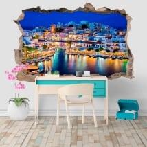 Vinyle décoratif grèce agios nikolaos île de crète