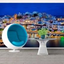 Papiers peints grèce agios nikolaos île de crète