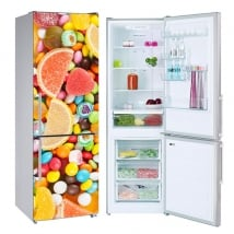 Vinyles pour réfrigérateurs bonbons et jujubes