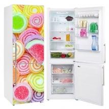 Vinyle réfrigérateurs et glacières gelée de haricots