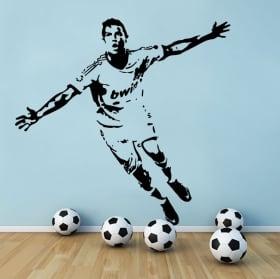 Vinyle football cristiano ronaldo