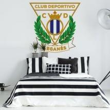 Vinyle football leganés club de sport bouclier