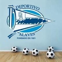 Vinyle football bouclier sport alavés