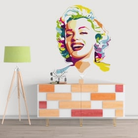 Stickers muraux marilyn monroe