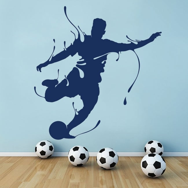 Stickers muraux soccer splash
