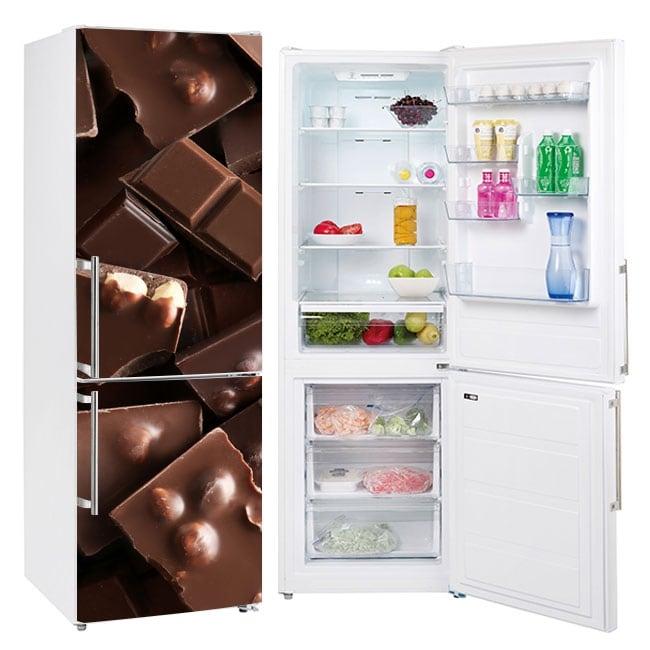 Vinyle réfrigérateurs et glacières chocolats