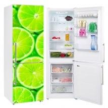 Vinyle réfrigérateurs et glacières citrons