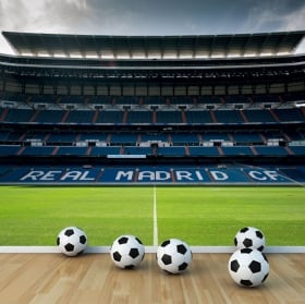 Papiers peints real madrid stade de football