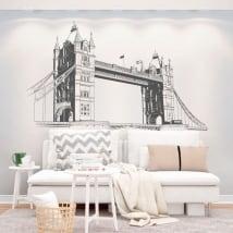 Vinyle décoratif murs pont de la tour de londres