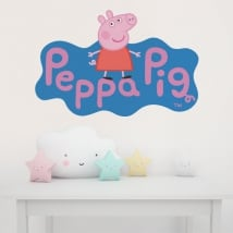 Vinyle les enfants peppa pig