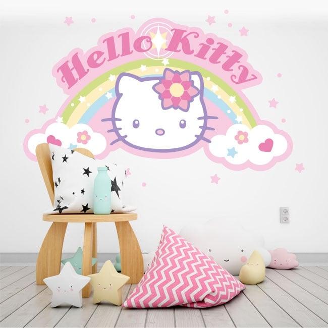 Vinyle décoratif hello kitty