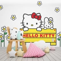 Autocollants hello kitty
