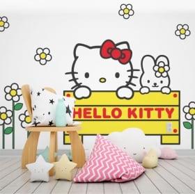 Autocollants hello kitty