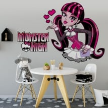 Vinyle et autocollants monster high