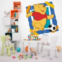 Vinyle et autocollants winnie the pooh football