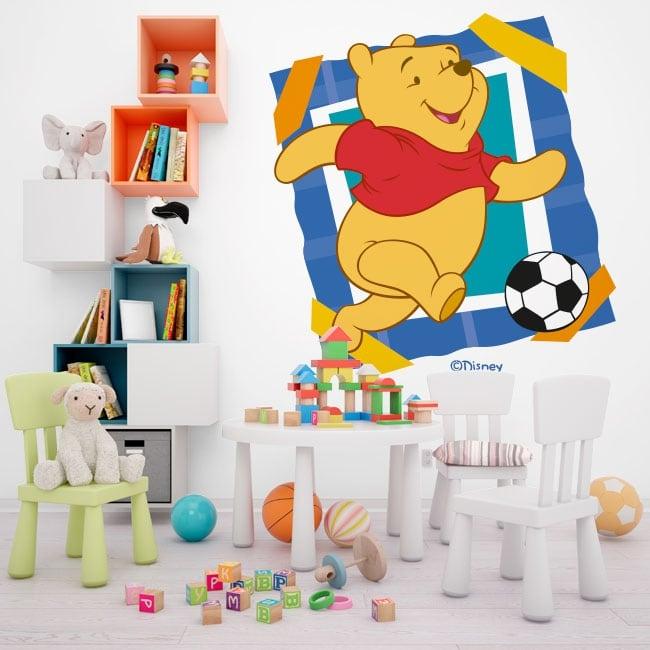 Vinyle et autocollants winnie the pooh football