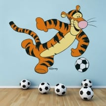 Vinyle et autocollants winnie the pooh tigger football