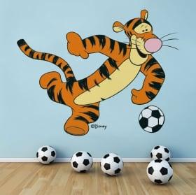 Vinyle et autocollants winnie the pooh tigger football