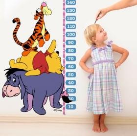 Vinyle pour enfants mètre winnie l'ourson