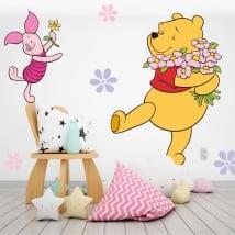 Vinyle les murs des enfants winnie the pooh
