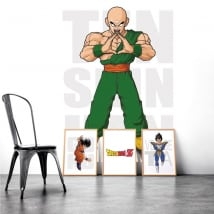 Vinyle adhésif dragon ball ten shin han