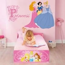 Vinyle adhésif et autocollants princesses de disney