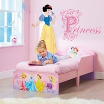 Autocollants pour enfants princesses de disney