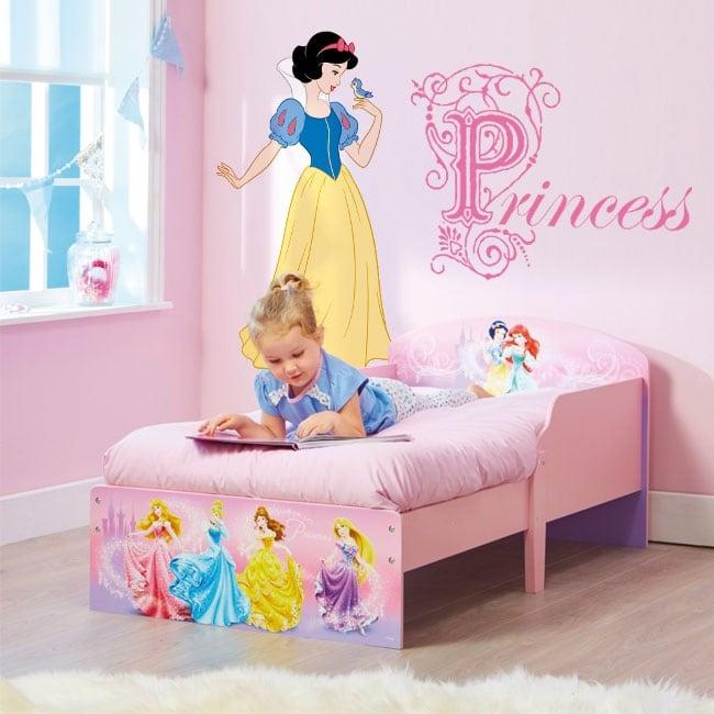 Autocollants pour enfants princesses de disney