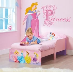 Vinyle enfants princesse disney