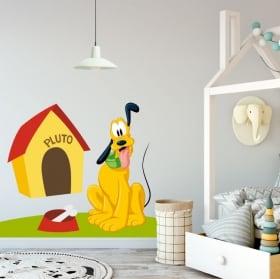 Vinyle de décoration pour enfants disney pluto