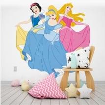 Vinyle décoratif et autocollants princesses de disney