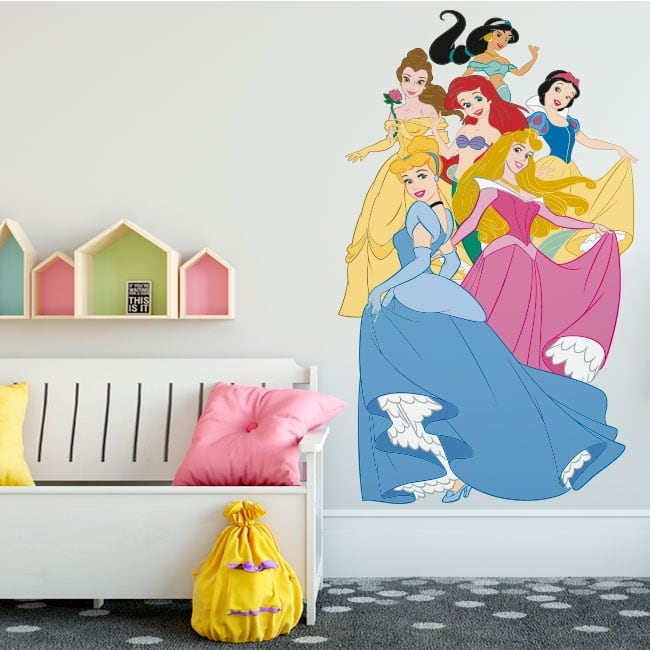 Vinyle adhésifs princesses disney