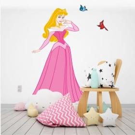 Vinyle pour enfants disney princesse et oiseaux