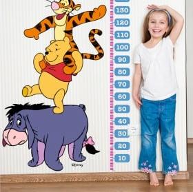 Vinyle pour enfants mètres de hauteur winnie l'ourson