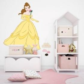 Vinyle et autocollants disney princesse bella