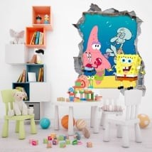Vinyle bob l'éponge décorer la chambre des enfants