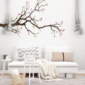 Vinyle décoratif fleurs tournesols