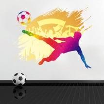 Vinyle et autocollants décoration de football