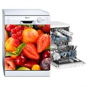 Vinyle pour lave-vaisselle collage de fruits