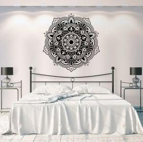 Vinyle décoratif et autocollants mandalas