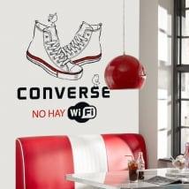 Vinyle adhésif et autocollants converse il n'y a pas de wifi