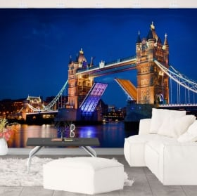 Peintures murales vinyle pont tour londres
