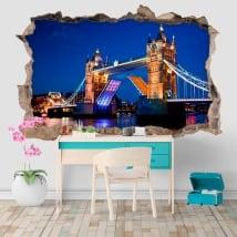 Vinyl 3D Tower Bridge Londres