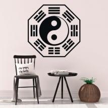 Vinyle décoratif et autocollants yin yang